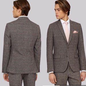 Other - Tweed Brown suit slim fit